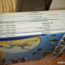 Cómics: LOTE DE 10 TOMOS LEFRANC, TAPA DURA GRIJALBO JUNIOR EDICION COMPLETA. Lote 161373454