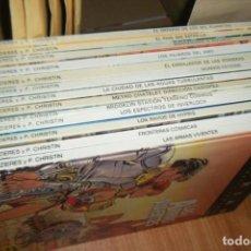 Cómics: VALERIAN AGENTE ESPACIO TEMPORAL, LOTE DE 13 TOMOS, TAPA DURA GRIJALBO JUNIOR. Lote 161374086