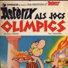 Cómics: ASTÈRIX ALS JOCS OLÍMPICS (GRIJALBO-DARGAUD, 1982 · 48 PÁGINAS EN CATALÁN) . Lote 161576050