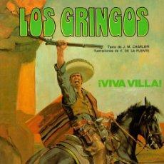 Cómics: LOS GRINGOS. VIVA VILLA. Nº 2. EDICIONES JUNIOR, 1981. Lote 161666010