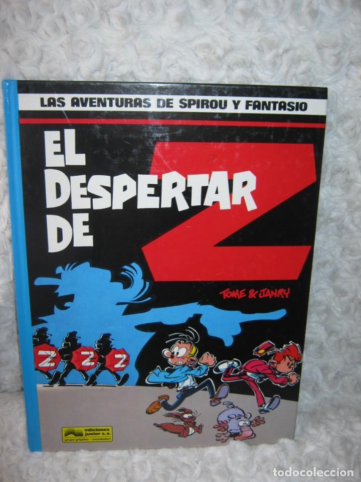 LAS AVENTURAS DE SPIROU Y FANTASIO EL DESPERTAR DE Z - N. 23 (Tebeos y Comics - Grijalbo - Spirou)