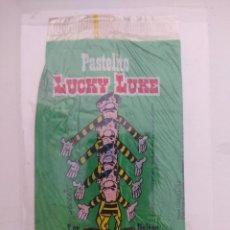 Cómics: ENVASE/ENVOLTORIO PASTELITOS BIMBO/LUCKY LUKE-LOS DALTON.. Lote 162772210
