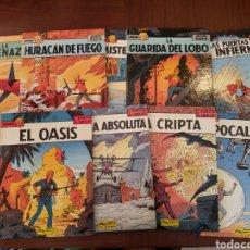 Comics : LEFRANC. 10 TOMOS COMPLETA PRIMERA ÉPOCA. JACQUES MARTIN, GILLES CHAILET. Lote 163067436
