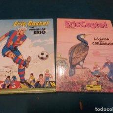 Cómics: ERIC CASTEL Nº 1 Y 12 - LOS JUNIORS DE ERIC + LA CASA DEL CORMORÁN - EDICIONES JUNIOR-GRIJALBO. Lote 163448206