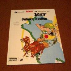 Cómics: ASTERIX GALIAKO ITZULIAN 1987 TAPA DURA. Lote 163753826