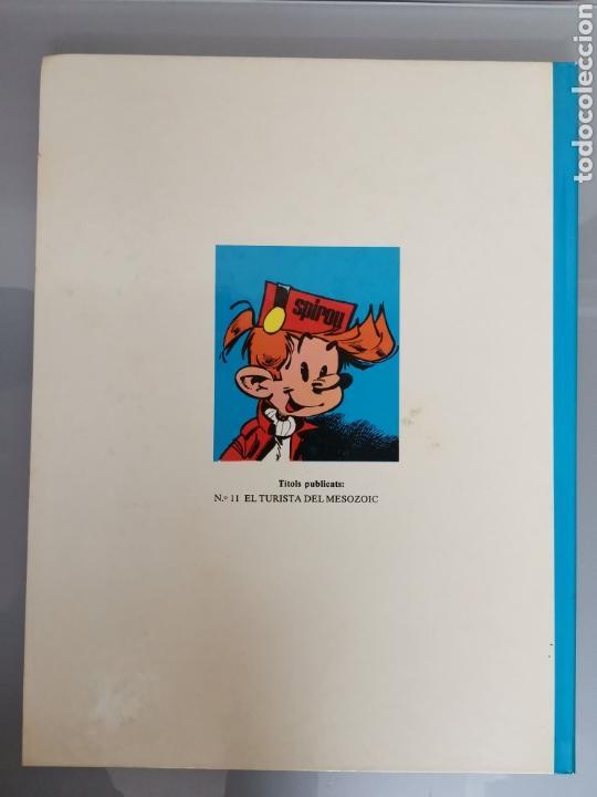 Cómics: LES AVENTURES DESPIRU I FANTÀSTIC EL TURISTA DE MESOZOIC 11 JUNIOR GRIJALBO 1983 - Foto 2 - 164283501