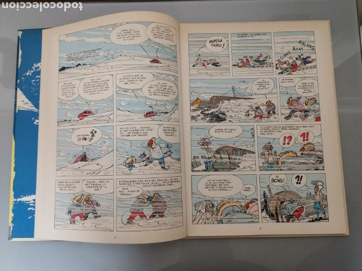 Cómics: LES AVENTURES DESPIRU I FANTÀSTIC EL TURISTA DE MESOZOIC 11 JUNIOR GRIJALBO 1983 - Foto 6 - 164283501
