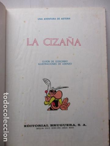 Cómics: ASTÉRIX. LA CIZAÑA (Bruguera, 1970) - Foto 5 - 164378254