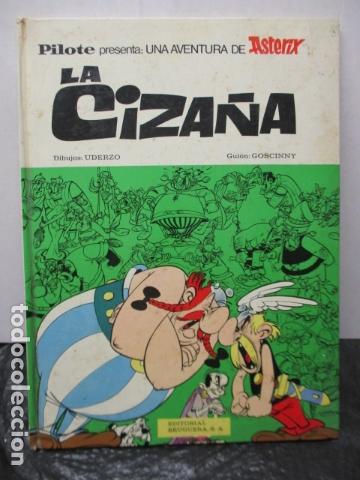 ASTÉRIX. LA CIZAÑA (BRUGUERA, 1970) (Tebeos y Comics - Grijalbo - Asterix)