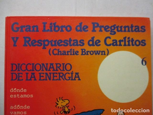 Cómics: GRAN LIBRO DE PREGUNTAS Y RESPUESTAS DE CARLITOS ,TOMO 6 , CHARLIE BROWN SNOOPY , GRIJALBO DARGAUD - Foto 2 - 164378402