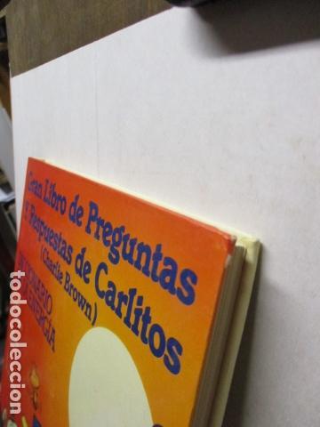 Cómics: GRAN LIBRO DE PREGUNTAS Y RESPUESTAS DE CARLITOS ,TOMO 6 , CHARLIE BROWN SNOOPY , GRIJALBO DARGAUD - Foto 5 - 164378402