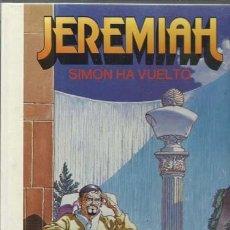 Cómics: JEREMIAH 14: SIMON HA VUELTO, 1991, EDICIONES JUNIOR, MUY BUEN ESTADO. COLECCIÓN A.T.. Lote 164425826