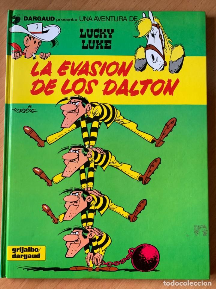 LA EVASION DE LOS DALTON - LUCKY LUKE 16 GRIJALBO DARGAUD 1991 (Tebeos y Comics - Grijalbo - Lucky Luke)