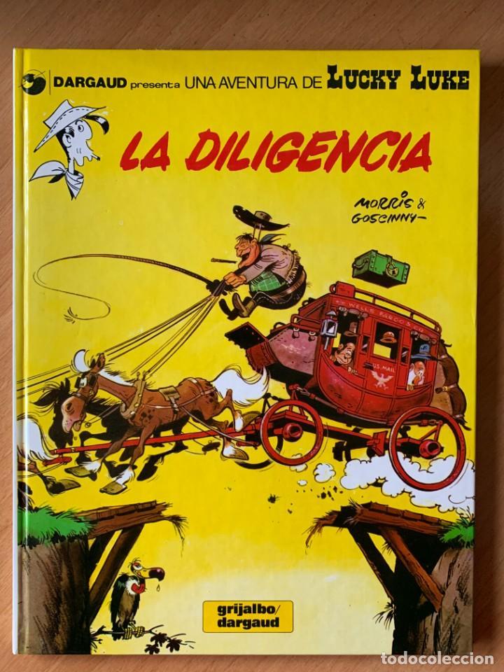 LA DILIGENCIA - LUCKY LUKE 24 GRIJALBO DARGAUD 1983 (Tebeos y Comics - Grijalbo - Lucky Luke)