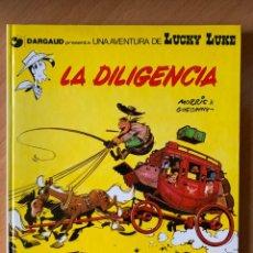 Cómics: LA DILIGENCIA - LUCKY LUKE 24 GRIJALBO DARGAUD 1983. Lote 164609066