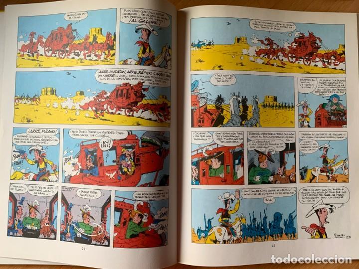 Cómics: La Diligencia - Lucky Luke 24 Grijalbo Dargaud 1983 - Foto 3 - 164609066