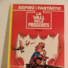 Cómics: SPIROU -LA VALL DELS PROSCRITS- CATALÀ. Lote 164732666