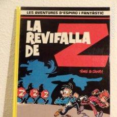 Cómics: SPIROU- LA REVIFALLA DE Z- CATALÀ. Lote 164933130