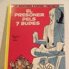 Cómics: SPIROU- EL PRESONER DELS 7 BUDES- CATALÀ. Lote 164934122