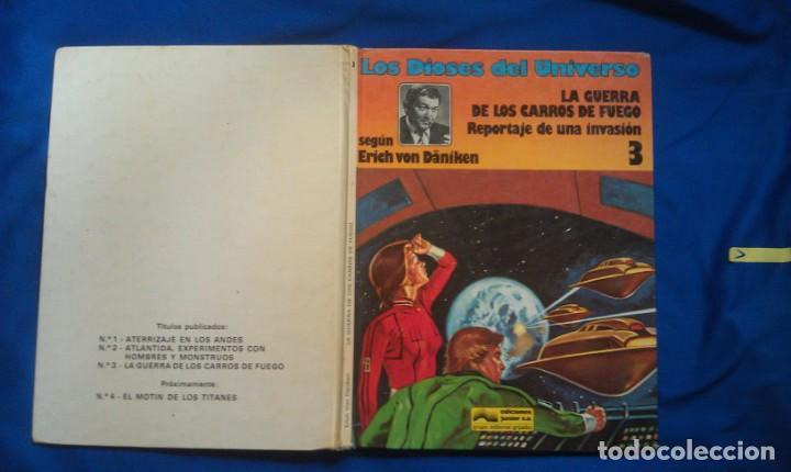 LA GUERRA DE LOS CARROS DE FUEGO - LOS DIOSES DEL UNIVERSO 3 (Tebeos y Comics - Grijalbo - Otros)