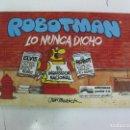 Cómics: .ROBOTMAN Nº 2.. LO NUNCA DICHO. EDICIONES JUNIOR 1987.. Lote 165046578