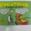 Cómics: .ROBOTMAN Nº 4. SE QUEDA SIN PILAS. EDICIONES JUNIOR 198.. Lote 165047062