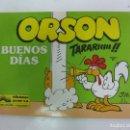 Cómics: ORSON Nº 4. BUENOS DIAS. EDICIONES JUNIOR 1989.. Lote 165047594
