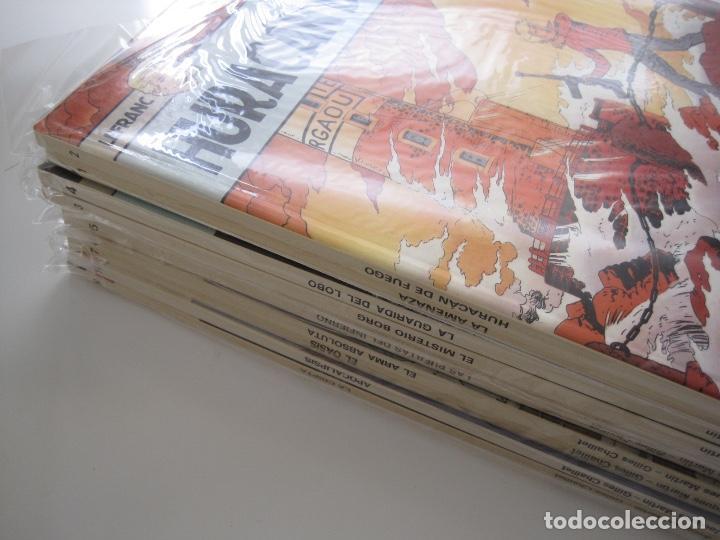 Cómics: LEFRANC--JACQUES MARTIN -CHAILLET--COMPLETA 10 ÁLBUMES--EDICIONES JUNIOR GRIJALBO--MUY BUEN ESTADO - Foto 3 - 165255246