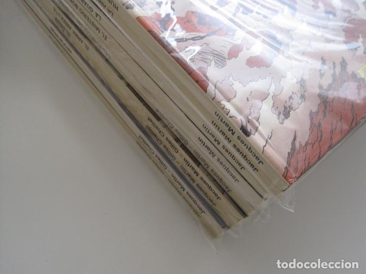 Cómics: LEFRANC--JACQUES MARTIN -CHAILLET--COMPLETA 10 ÁLBUMES--EDICIONES JUNIOR GRIJALBO--MUY BUEN ESTADO - Foto 4 - 165255246