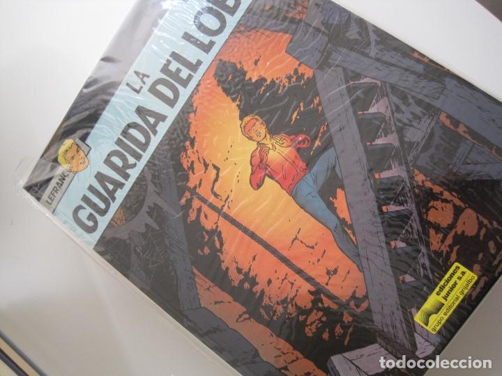 Cómics: LEFRANC--JACQUES MARTIN -CHAILLET--COMPLETA 10 ÁLBUMES--EDICIONES JUNIOR GRIJALBO--MUY BUEN ESTADO - Foto 6 - 165255246