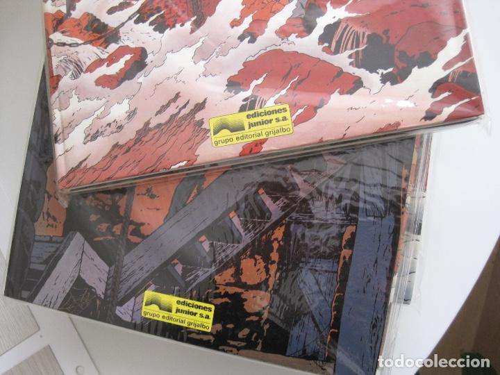 Cómics: LEFRANC--JACQUES MARTIN -CHAILLET--COMPLETA 10 ÁLBUMES--EDICIONES JUNIOR GRIJALBO--MUY BUEN ESTADO - Foto 10 - 165255246
