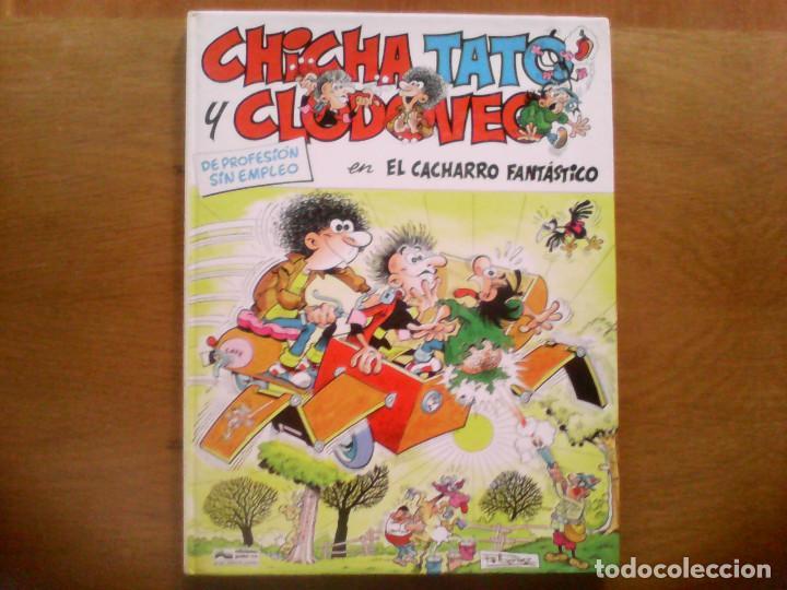CHICHA, TATO Y CLODOVEO . EL CACHARRO FANTÁSTICO. Nº 4 (Tebeos y Comics - Grijalbo - Otros)