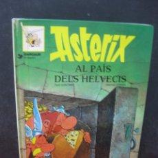 Cómics: ASTERIX AL PAIS DELS HELVECIS. GOSCINNY - UDERZO. GRIJALBO 1990.. Lote 165452682