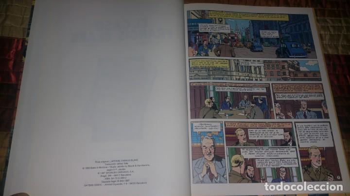 Cómics: 14 comics BLAKE Y MORTIMER Edgar Jacobs ED JUNIOR COMPLETA Rayo U + Francis Blake - Foto 6 - 165717370