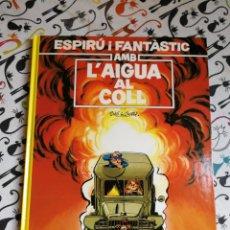 Cómics: ESPIRÚ I FANTÀSTIC.VOL.26.AMB L'AIGUA AL COLL.ED.JUNIOR.CATALÀ. Lote 166005201