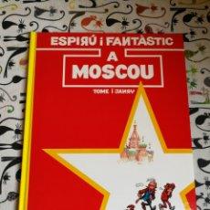 Cómics: ESPIRÚ I FANTÀSTIC A MOSCOU.VOL 28.ED.JUNIOR.CATALÀ. Lote 166010485
