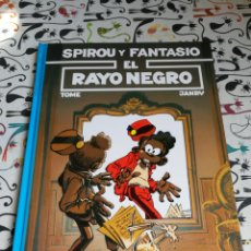 Cómics: SPIROU Y FANTASIO EL RAYO NEGRO.VOL 32.EDITORIAL JUNIOR 1993.DIFÍCIL. Lote 166013936