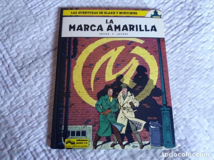 LA MARCA AMARILLA. BLAKE Y MORTIMER. EDGAR P. JACOBS. JUNIOR GRIJALBO. N° 3. (Tebeos y Comics - Grijalbo - Blake y Mortimer)