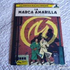 Cómics: LA MARCA AMARILLA. BLAKE Y MORTIMER. EDGAR P. JACOBS. JUNIOR GRIJALBO. N° 3.. Lote 166274558