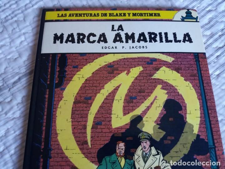 Cómics: La Marca Amarilla. Blake y Mortimer. Edgar P. Jacobs. Junior Grijalbo. N° 3. - Foto 2 - 166274558