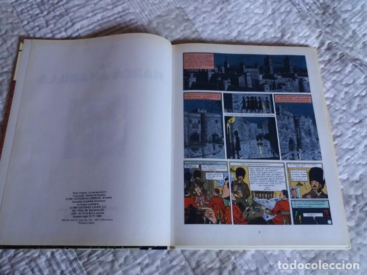 Cómics: La Marca Amarilla. Blake y Mortimer. Edgar P. Jacobs. Junior Grijalbo. N° 3. - Foto 4 - 166274558