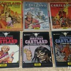 Cómics: LOTE 6 COMICS JONATHAN CARTLAND 1 2 3 6 7 8. Lote 166293630