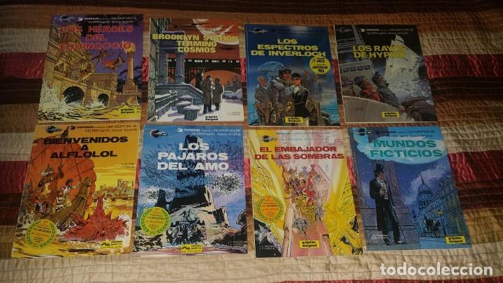 LOTE 8 COMICS VALERIAN 3 4 5 6 7 10 11 12 GRIJALBO (Tebeos y Comics - Grijalbo - Valerian)