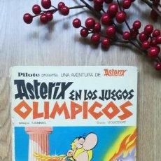 Cómics: ASTERIX EN LOS JUEGOS OLÍMPICOS. EDICIÓN DE 1968. Lote 166376550