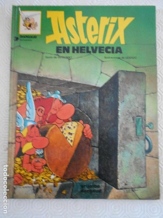 ASTERIX EN HELVECIA. GOSCINNY / UDERZO. GRIJALBO/DARGAUD. TAPA DURA. COLOR. 1991.48 PAGINAS. 350 GRA (Tebeos y Comics - Grijalbo - Asterix)