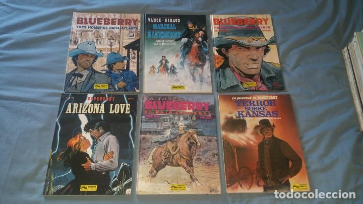 LOTE 22 COMICS BLUEBERRY ENTRE EL 4 Y EL 33 (Tebeos y Comics - Grijalbo - Blueberry)