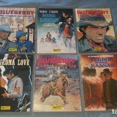 Cómics: LOTE 22 COMICS BLUEBERRY ENTRE EL 4 Y EL 33. Lote 166535958