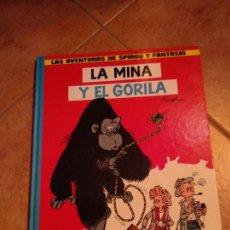 Fumetti: LAS AVENTURAS DE SPIROU Y FANTASIO Nº 9 LA MINA Y EL GORILA FRANQUIN - JUNIOR G. ED. GRIJALBO. Lote 166623754