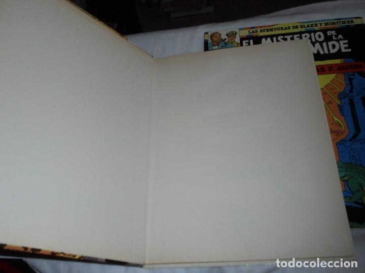 Cómics: EL MISTERIO DE LA GRAN PIRAMIDE.EDGAR P.JACOBS.COMPLETA 2 TOMOS.EDICIONES JUNIOR 1983.-1ª EDCION - Foto 2 - 166721810