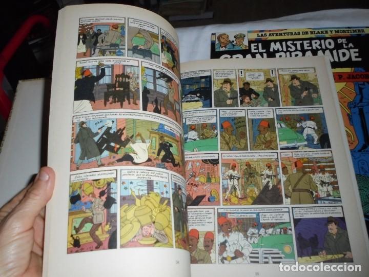 Cómics: EL MISTERIO DE LA GRAN PIRAMIDE.EDGAR P.JACOBS.COMPLETA 2 TOMOS.EDICIONES JUNIOR 1983.-1ª EDCION - Foto 5 - 166721810